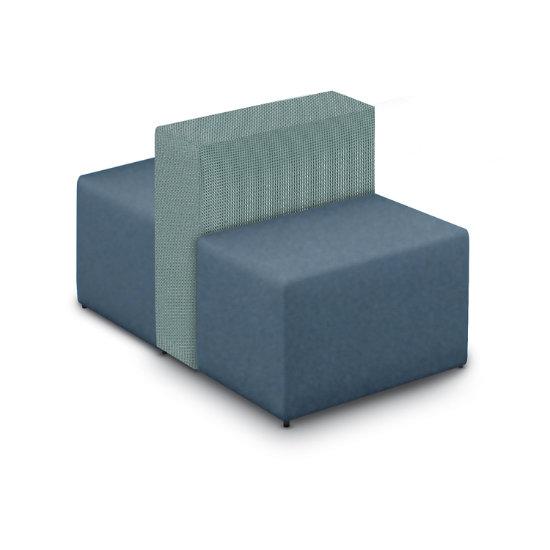 Cool Converge Wide 2 Person Chair In 2 Tone Vinyl Fabric Hlx Uwap Interior Chair Design Uwaporg