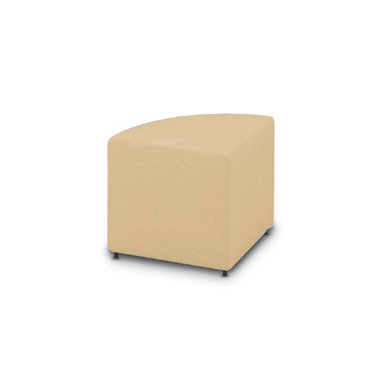 Prime Converge Wedge Seat Ottoman In Vinyl Dailytribune Chair Design For Home Dailytribuneorg