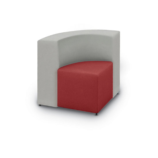 Fine Converge Wedge Chair In 2 Tone Designer Vinyl Fabric Dailytribune Chair Design For Home Dailytribuneorg