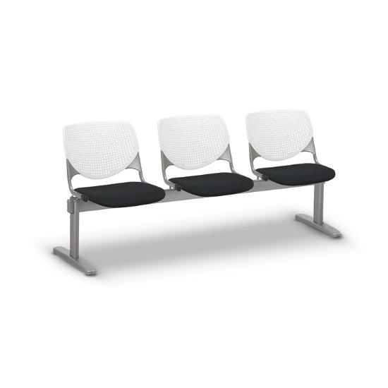 Flex Bow Beam Seating w/ 3 Fabric Seats