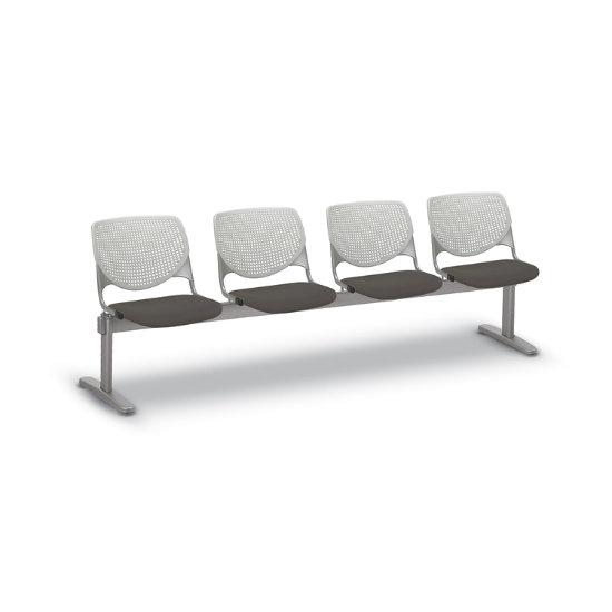 Flex Bow Beam Seating w/ 4 Vinyl Seats