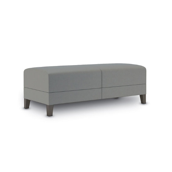 Sonnet 2-Seat Bench in Vinyl