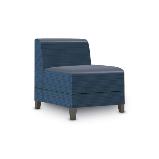 Sonnet Armless Guest Chair in Designer Fabric