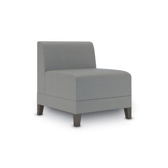 Sonnet Armless Guest Chair in Vinyl