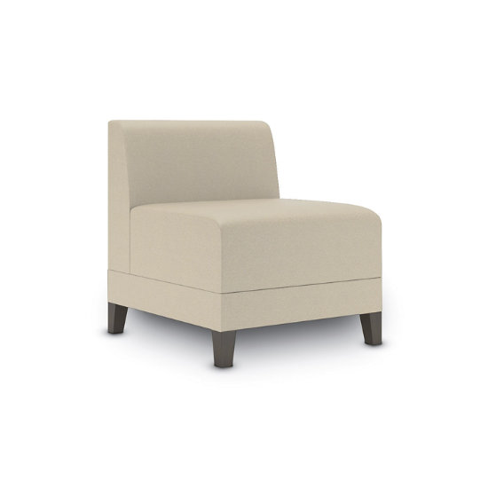 Sonnet Armless Guest Chair in Fabric