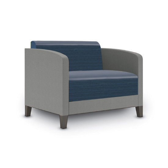 Sonnet Bariatric Chair in Two-Tone Upholstery