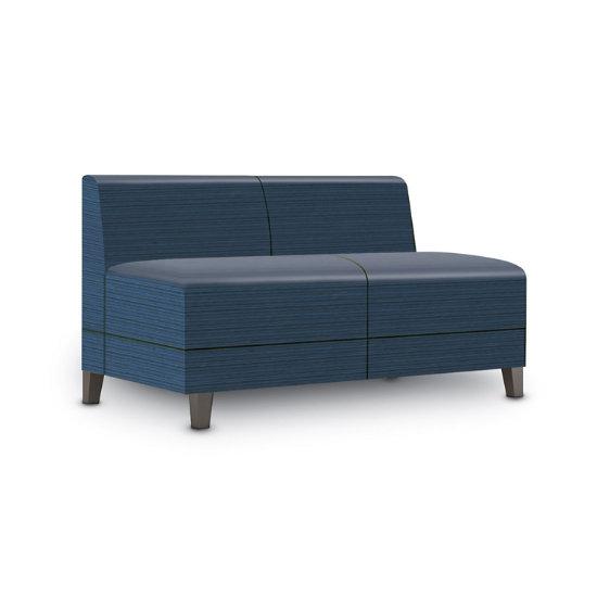 Sonnet Armless Loveseat in Designer Fabric