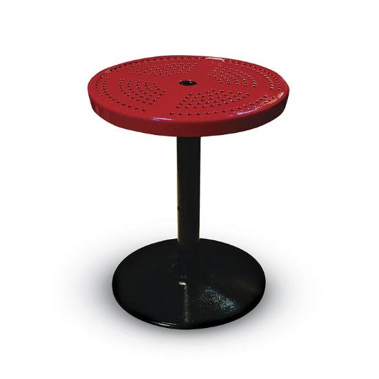 """Parkton 24"""" Round Outdoor Table w/ Round Base"""