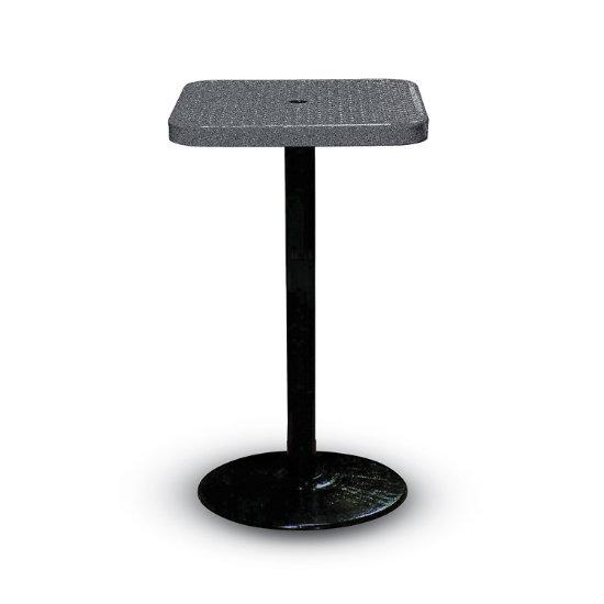 "Parkton 24"" Square Outdoor Table w/ Round Base"