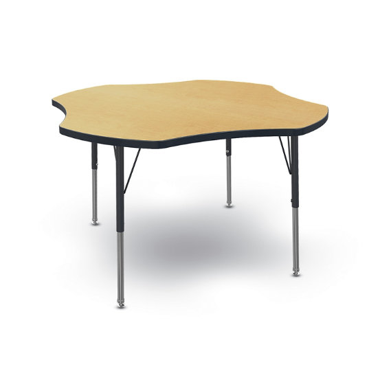 Willow Clover-Shape Activity Table