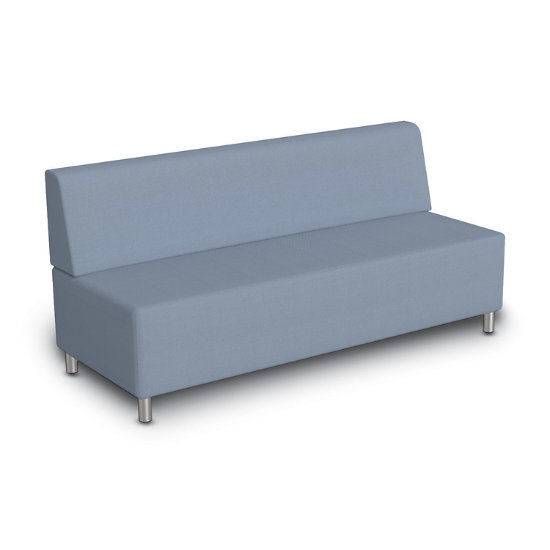 Terrific Align Armless Sofa In Fabric Andrewgaddart Wooden Chair Designs For Living Room Andrewgaddartcom