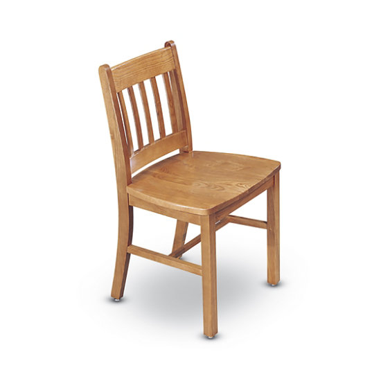 Chancellor Straight Back Wood Chair