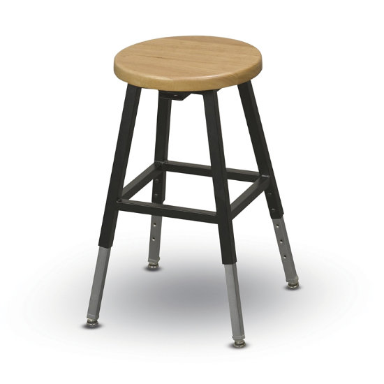 Awesome Heavy Duty Backless Wood Stool Mss 1Nb K Log Ibusinesslaw Wood Chair Design Ideas Ibusinesslaworg