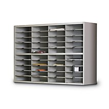 Expandable Mail Workcenters: 2 Tier Mail Sorter Without Riser