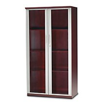 "Napoli Wall Cabinet with Glass Doors - 68""H"