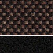 Chocolatier Fabric / Sandtex Black Frame