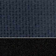Midnight Blue Fabric / Sandtex Black Frame