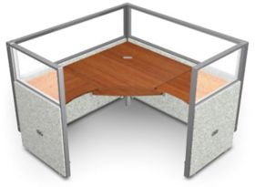 Instant Office Workstation with Translucent Top 60\