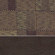 Fabric/Vinyl: Copper/Brown