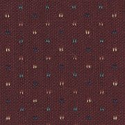 Patterned: Burgundy Pinpoint