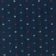 Patterned: Navy Pinpoint