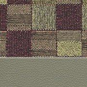 Fabric/Vinyl: Plum/Taupe