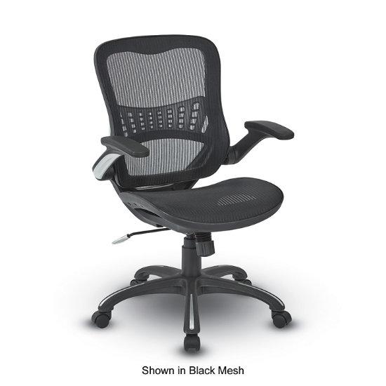 Azura Air Flow Task Chair W Black Frame Omm Bf K Log