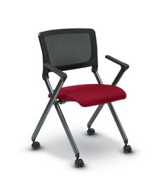 office star products worksmart fc series folding chair with flex