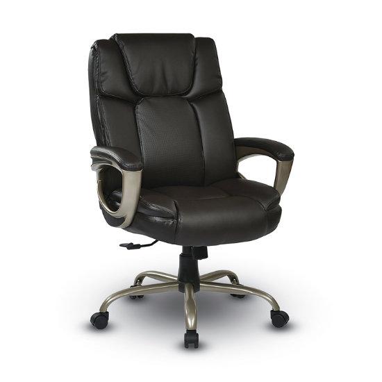 Profile Executive Espresso Eco Leather Chair Pel 80 K Log