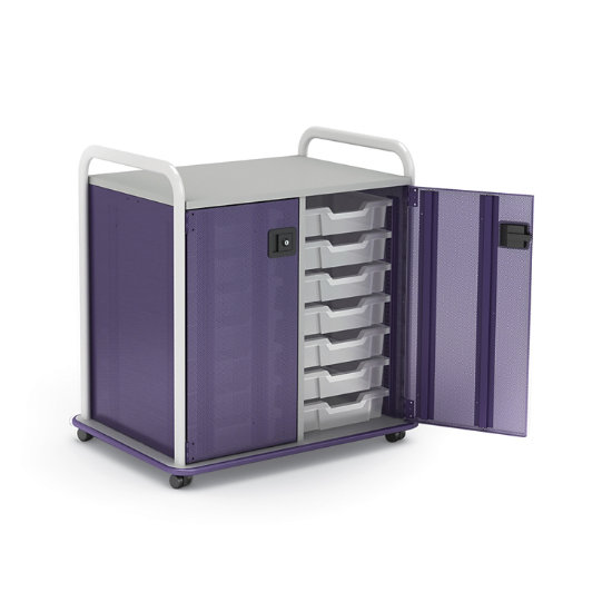 Edison Double Sided Mobile Tote Storage