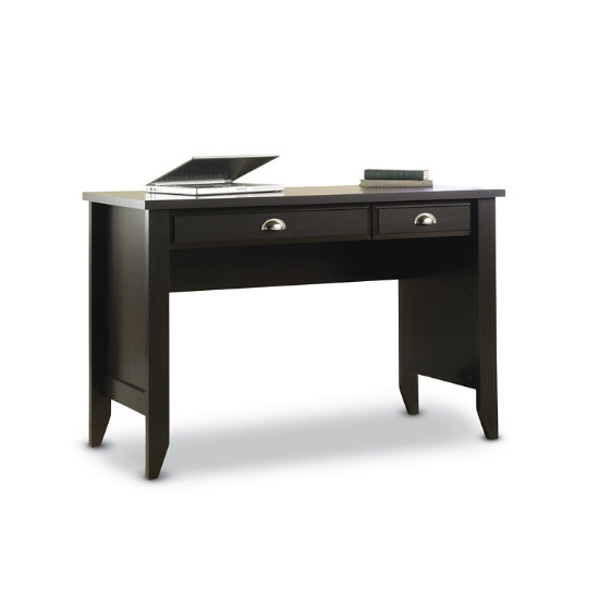 Sauder Woodworking Shoal Creek Desk In Jamocha Wood 411961