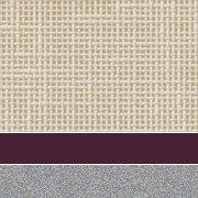 Custom: Flax Linen/Burgundy/Platinum