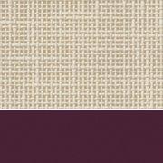 Custom: Flax Linen/Burgundy