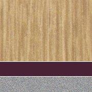 Custom: New Age Oak/Burgundy/Platinum