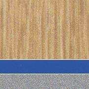 Custom: New Age Oak/Persian Blue/Platinum