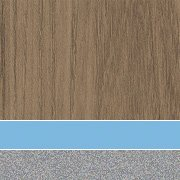 Custom: Palisades Oak/Cerulean/Platinum