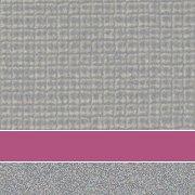 Custom: Pewter Mesh/Fuchsia/Platinum