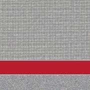 Custom: Pewter Mesh/Red/Platinum