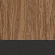 Medium Oak/Char Black