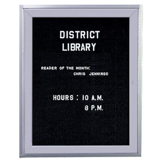 1 Door Agenda Enclosed Letter Board Vlb 1 K Log