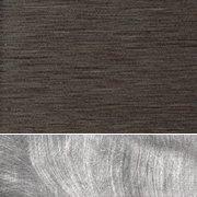 Dark Bronze/Silver Swirl