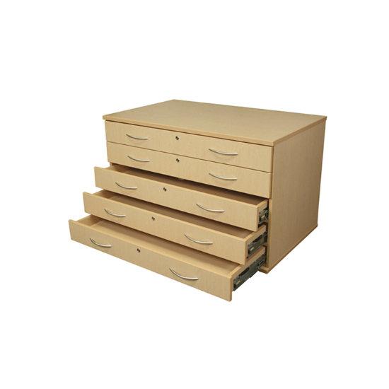 Storage Solutions 5 Drawer Paper Storage