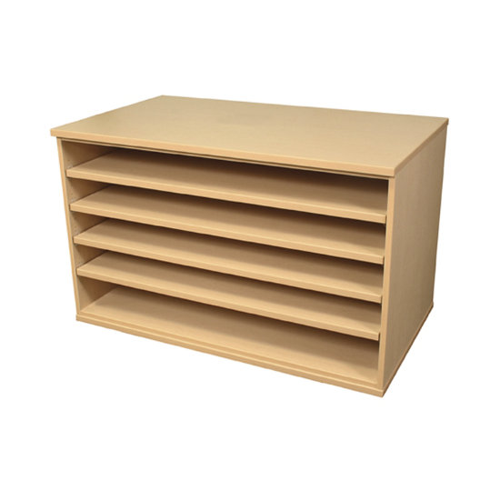 Superbe Storage Solutions Adjustable Shelf Paper Storage