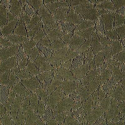 Fashion Collision in Velvet Moss - Carpet by Mohawk Flooring
