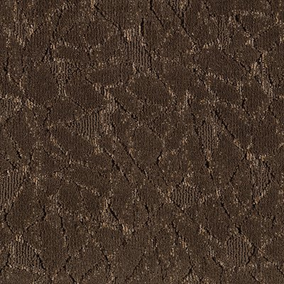 Fashion Collision in Brown Leather - Carpet by Mohawk Flooring