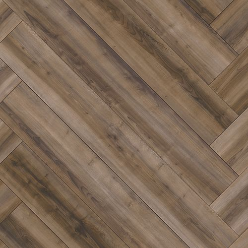 Treasured Grove Umber Herringbone 873H