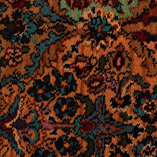 Axminster Broadloom - Multicolor Panel Kirman Multicolor Panel Kirman B717B