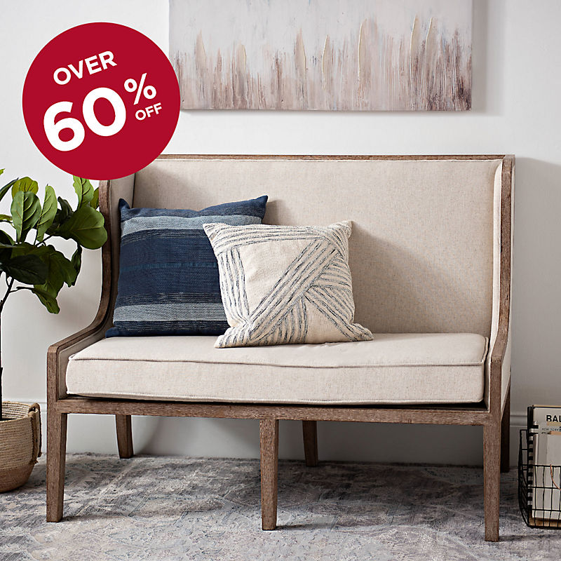 Over 60% Off Louis Loveseat Now $262 with code