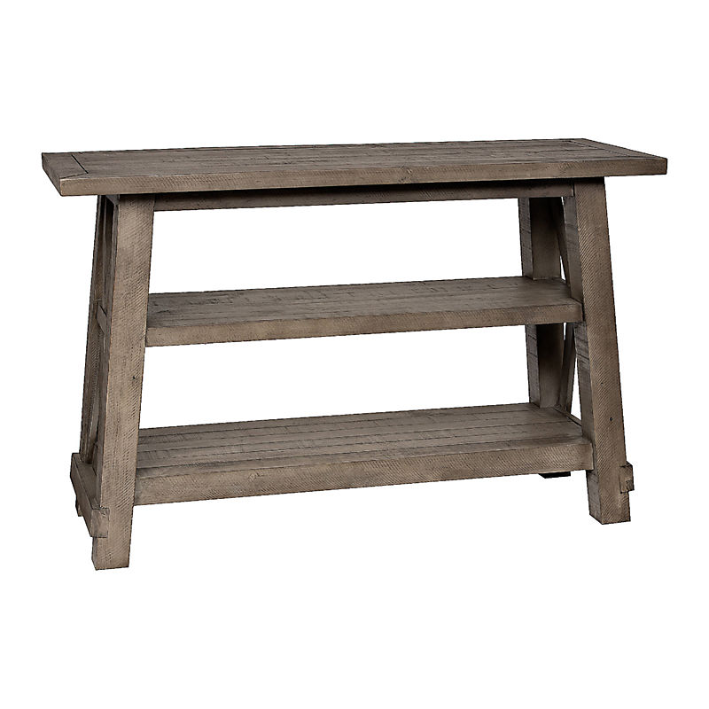 Gray Wooden Console Table Now $254.99