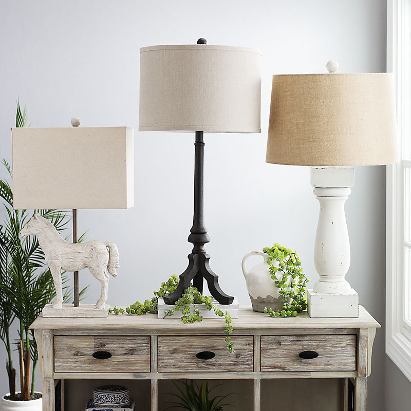 Select Table Lamps $20 Off